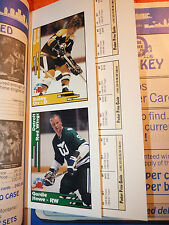 Feb92 SCD NHL Hockey Mint Gordie Howe,Hull Gretzky Esposito Orr Beautiful Cards!