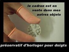 10 protège doigts évite les traces et empreintes pour horlogerie chronographe