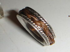 Custom made Horsehair Ring STERLING SILVER   MADE TO YOU AND YOUR HORSE C@@L