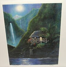 "DAWN LUNDQUIST ""HAWAIIAN FANTASY"" LIMITED EDITION SIGNED LITHOGRAPH"