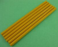 Lot 6 vintage L & C Hardtmuth Koh-I-Noor 1500 8H Drawing Sketching Pencils USA