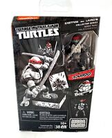 Leonardo TMNT Ninja Turtles Eastman & Laird Mega Bloks Figure New Black & White