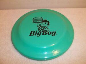 "Vtg BIG BOY RESTAURANT 9"" FLYING DISC Green"