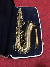 Vintage Conn 6M Alto Saxophone Naked Lady Engraved