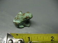 FROG  MINIATURE   SOLID  BRASS    FINELY  DETAILED   NICE !!