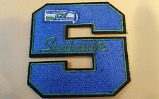 """Seattle Seahawks Vintage embroidered iron on patch 3"""" x 3"""""""