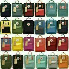 Unisex Backpack 7L/16L/20L Fjallraven Kanken Leisure Student Backpack School Bag