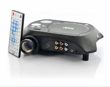 Latest LED Multimedia Projector with DVD Movie Player 320*240 60 ansiLumens500:1