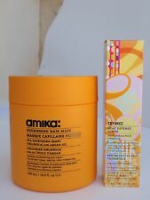 Amika Obliphica Nourishing Hair Mask 500ml & Heat Defense Serum 100ml 3.38 fl.oz