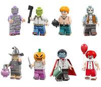 Marvel Horror New Film Joker Clown Vampire Witch Monster Toys Building Blocks