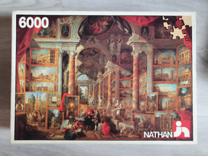 6000 piece puzzle, 'Picture Gallery' by Giovanni Paolo Pannini - Very Rare!!