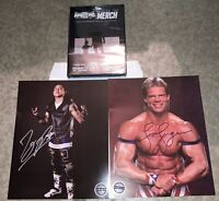 Pro Wrestling Crate Autograph Photos Lex Luger TJP + DVD SHIPS TODAY WWF WCW NWA