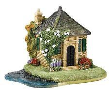 Lilliput Lane Gone Fishin' Special Event Cottage 2016 Ornament 8cm L3788 UK Made