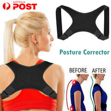 AU Adjustable Posture Corrector Shoulder Brace Back Support Strap Belt