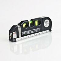 Multi-Purpose Laser Level - With 8ft/2.5M tape measure and 3 Batteries Included