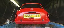 Classic mini  Austin 1989 project red