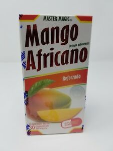 Mango Africano MASTER MAGIC AFRICAN MANGO 30 Capsulas Original w/ FREE Shipping