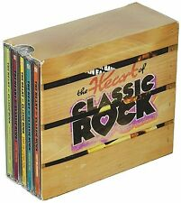 Heart of Classic Rock Box Set Various Artists Time Life 10 CD 144 Hits USA Made