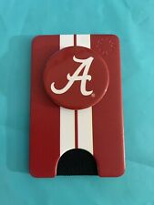 PopWallet Red Alabama Crimson Tide Red And White PopSocket And Wallet Pop Wallet