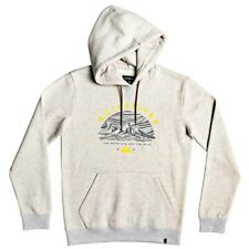2019 NWT MENS QUIKSILVER BIG LOGO SNOW HOODIE $70 L Light Grey Heather