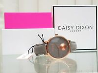 New DAISY DIXON Watch Grey Leather strap IDEAL GIFT for Her ! RRP £79 ! BOXED