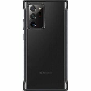 Original Samsung Galaxy Note20 Ultra Clear Cover EF-GN985CBEGEU Black