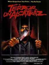 Terror Of Alcatraz Poster 01 Metal Sign A4 12x8 Aluminium