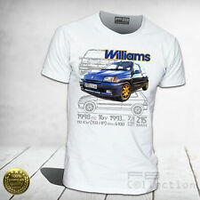 T-shirt Renault Clio WILLIAMS 2.0 16V Maxi Rally Legend Montecarlo UNISEX UOMO