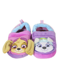 Nickelodeon Toddler Girl's Paw Patrol Pink/Purple Slippers Shoes Sz: 5/6