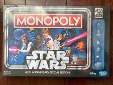 NEW Monopoly Star Wars 40th Anniversary