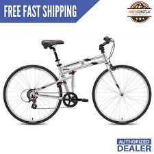 "Montague Crosstown 19"" 700cc Folding Bike, (minor scratches) - Open Box"