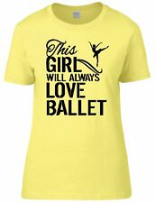 This Girl Ballet Womens Fitted Tee T-Shirt