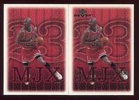 RARE NO FOIL - 1999-00 Upper Deck MVP Michael Jordan MJ Exclusives 1/1 - #196