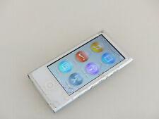 Apple iPod nano 7. Generation Silber 16GB aktuellstes Modell A1446 Sprung #F0GT