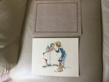 Vintage Norman Rockwell Beguiling Buttercup Print Promotional Ad Nabisco