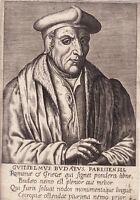 Portrait XVIIe Guillaume Budé Budaeus Traducteur Prévôt des Marchands Traducteur