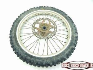 1990 Kawasaki KX 125 Front Wheel and Tire