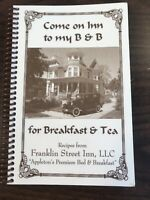 Franklin Street Inn Appleton WI VTG Victorian Bed & Breakfast cookbook Wisconsin