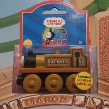 LIMITED EDITION MINT 2001 THOMAS & FRIENDS WOODEN RAILWAY ~  STEPNEY ~ LC99073!