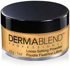 Dermablend Loose Setting Face Powder Warm Saffron #3501