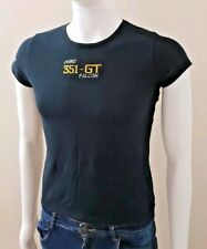 Simply Basics FORD 351GT Falcon Black T Shirt Embroidered Logo Size M Chest 90cm