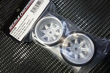 Scale Dynamics  10106  V16D Hayashi Street wheel (aluminum Silver) 12mm Offset