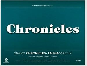2020-21 Panini Chronicles La Liga Complete Your Set Base & Inserts You U Pick