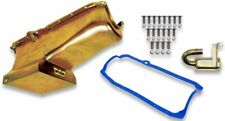NEW WEIAND OIL PAN KIT,GOLD ZINC,7 QUART,FITS 1986-2002 SMALL BLOCK CHEVY,DRAG