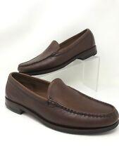 ALLEN EDMONDS Sanibel Loafer Moccasin Pebbled 42366 Men's Size 10 1/2 D