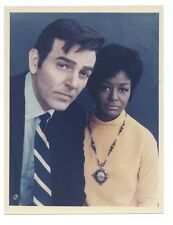 CBS 1960s MANNIX Original 7x9 COLOR Photo MIKE CONNORS Gail Fisher Portrait
