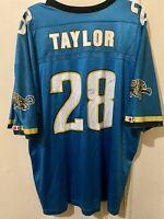 Vintage 90's Champion Fred Taylor NFL Jacksonville Jaguars Jersey Mens 48 XL