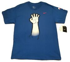 Vintage 2010 Men's Nike MLB Texas Rangers Claw Antler Tee Shirt Size Large NEW