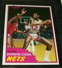 1981/82 TOPPS DARWIN COOK R/C BASKETBALL CARD