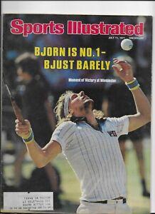 Sports Illustrated July 11 1977 Bjorn Bord is No.1 wins Wimbledon NM